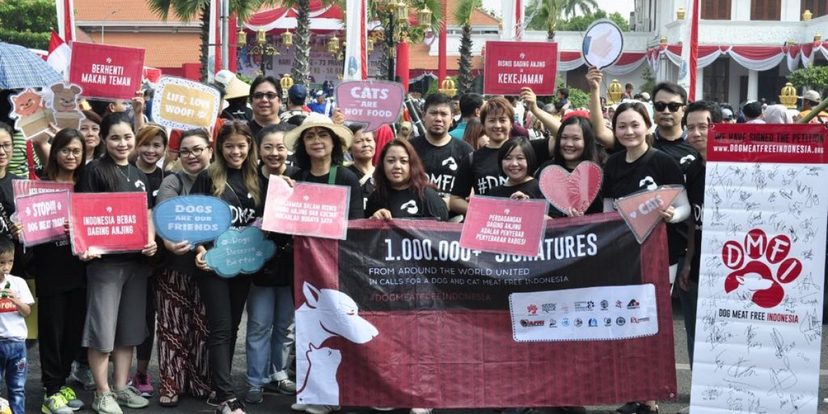 "On Indonesia's ""National Day of Heroes"", Hundreds Take to the Streets in Cities Throughout the Country to Join us in Our United Calls for A Dog And Cat Meat Free Indonesia!"